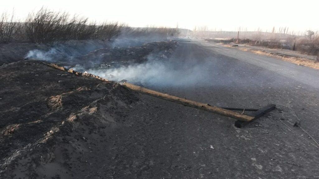El incendio en el INTA viejo provocó serios daños en instalaciones eléctricas