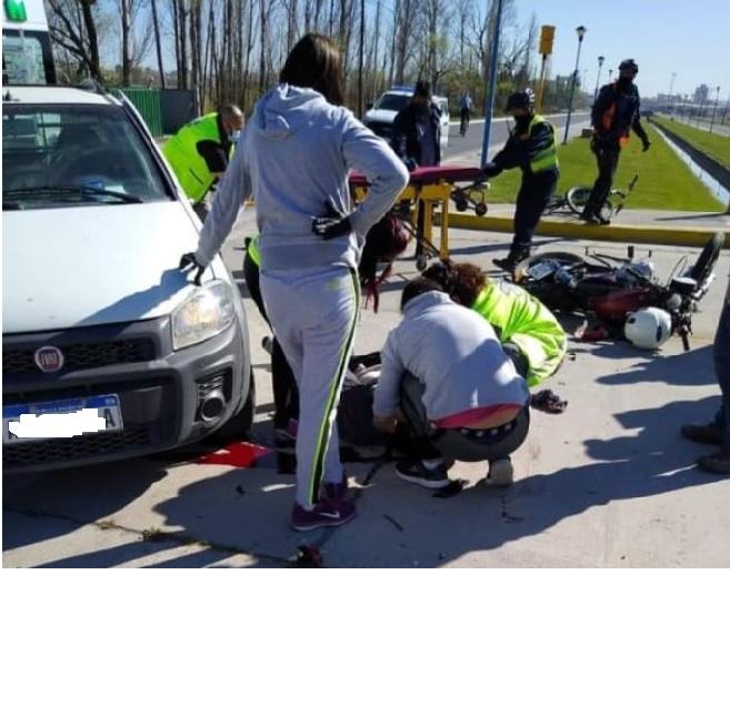 GENERAL ROCA: Murió un motociclista en el Paseo del Bicentenario