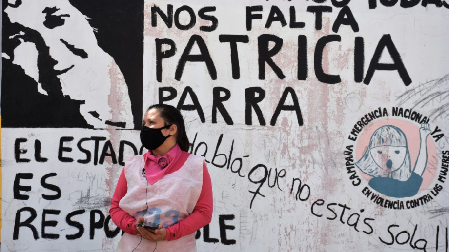 """A dos años del femicidio, """"No estamos todas, nos falta Patricia Parra"""""""